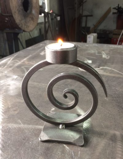 Spiral Tealight Candle Holder
